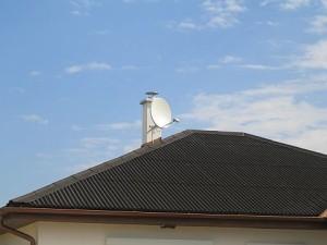 Parabola komin bungalov